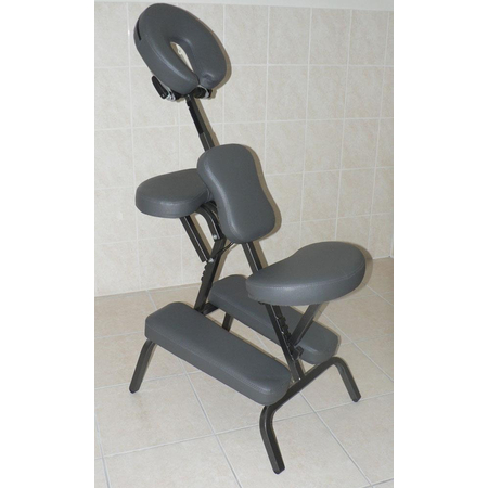 Chaise de Massage Pliante Grise