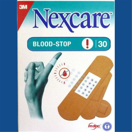 14 Pansement NEXCARE BLOOD-STOP ASSORTIMENT