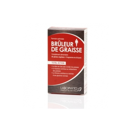 Bruleur de Graisses For Men cure 1 mois de Labophyto sur