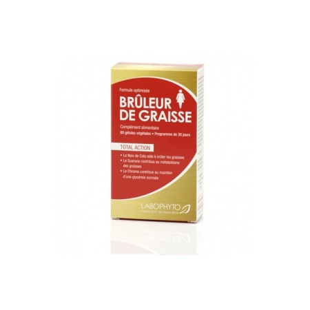 Bruleur de Graisses For Women - Cure 1 mois - Labophyto