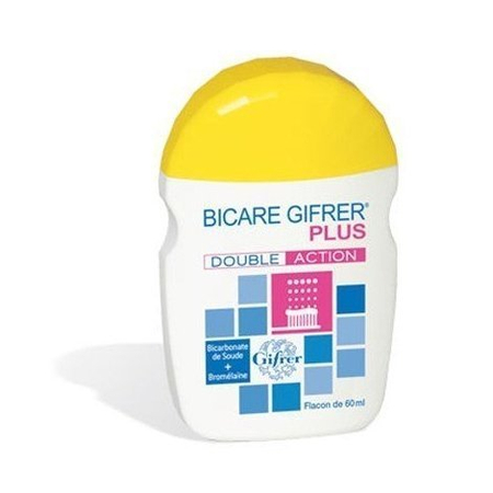Bicare Plus double action - 60 g - Gifrer