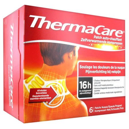 Thermacare Patch Auto-Chauffant - Nuque, Epaule, Poignet 6 Patchs - ThermaCare
