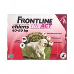 frontline tri act chiens 40-60kg 3 pipettes