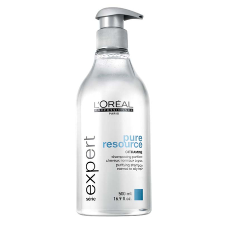 SHAMPOOING PURIFIANT PURE RESSOURCE L'OREAL  500ML