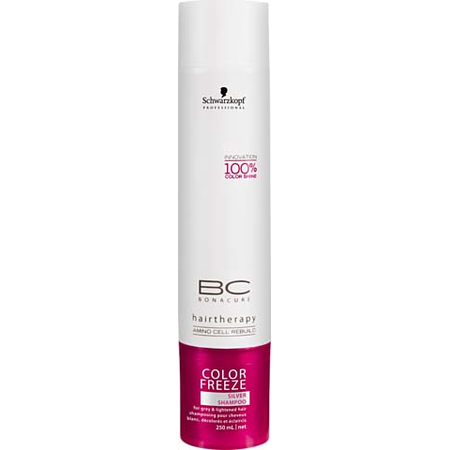 Schwarzkopf BC Color Freeze shampooing silver 250ml