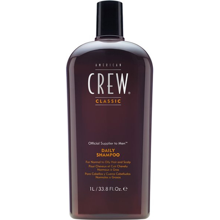 American Crew Daily Shampoo 1L (Normaux / Gras) litre