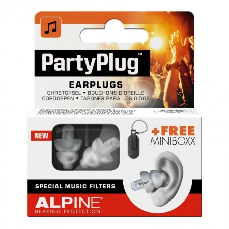 Party Plugs - Protection auditive - 1 paire - Alpine