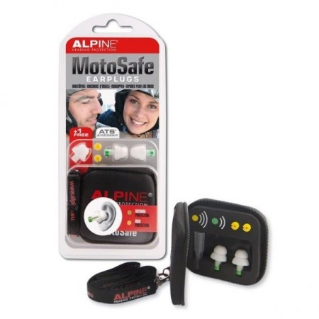 MotoSafe - Protection auditive - 1 paire