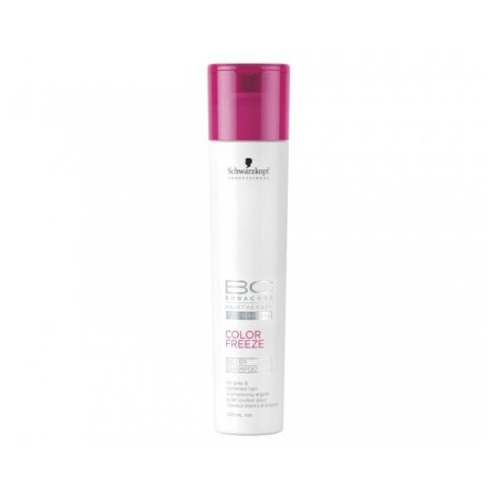 SHAMPOING COLOR FREEZE SILVER BONACURE SCHWARZKOPF PROFESSIONAL 250ML
