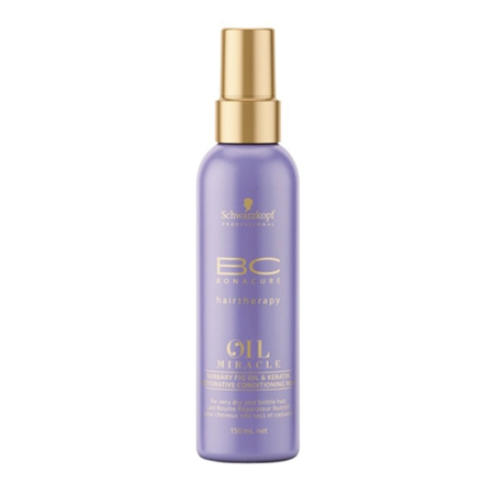 SPRAY CONDITIONNEUR BARBARY FIG OIL & KERATIN OIL MIRACLE, BC BONACURE DE SCHWARZKOPF 150ML