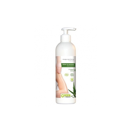 Creme de massage bio drainante - 500ml - Green For Health