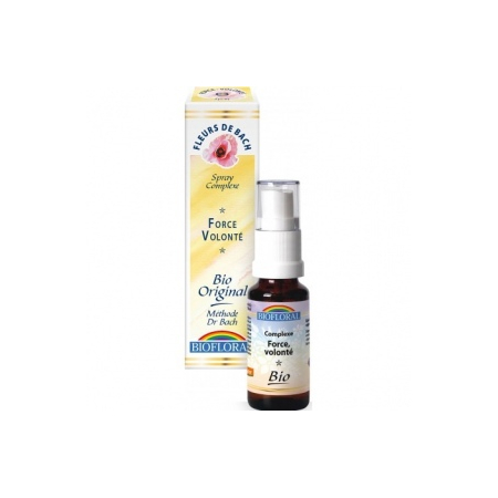BIOFLORAL ELIXIR FLORAL COMPLEXE 3 FORCE - 20 ML -