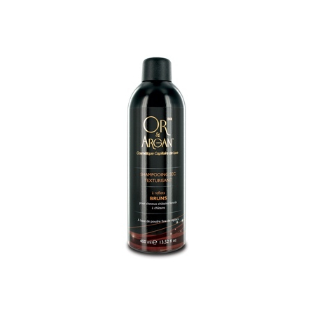 Shampooings secs Or & Argan (bruns) - 400ml - Or & Argan