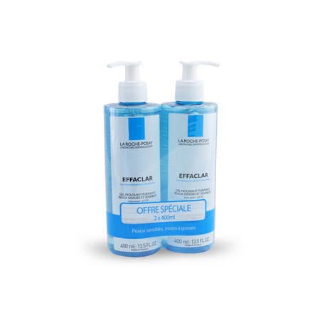 Effaclar gel moussant purifiant DUO 400ml