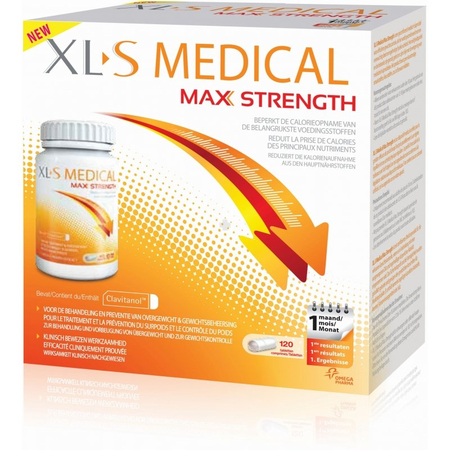 Extra Fort - 120 comprimés - XL-S Medical