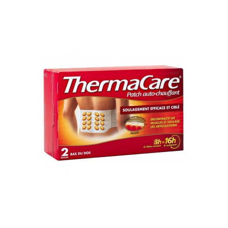 Thermacare Patch Auto-Chauffant - Bas du Dos 2 Patchs - ThermaCare