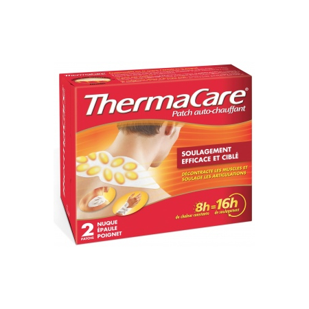 Thermacare Patch Auto-Chauffant - Nuque, Epaule, Poignet  2 Patchs - ThermaCare