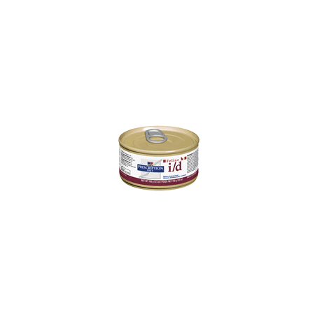 Aliment Prescription Diet I/D Feline Emincé au poulet pour chat 24 X 85 g