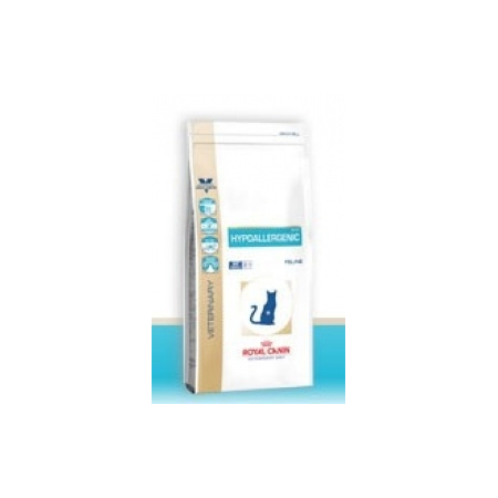 CROQUETTES ROYAL CANIN VDIET CHAT HYPO ALLERGENIQUE DR-25 SAC 2.5 KG - Royal Canin