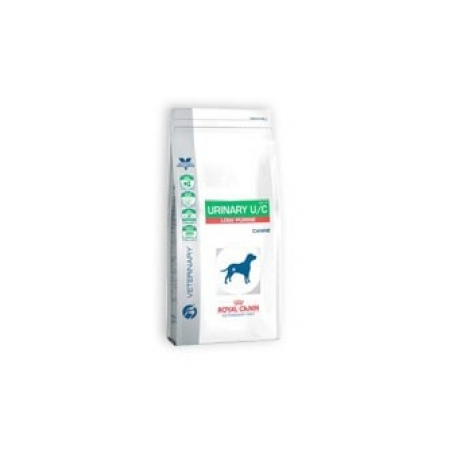 CROQUETTES ROYAL CANIN VDIET CHIEN URINARY UC LOW PURINE UUC-18 SAC 14 KG