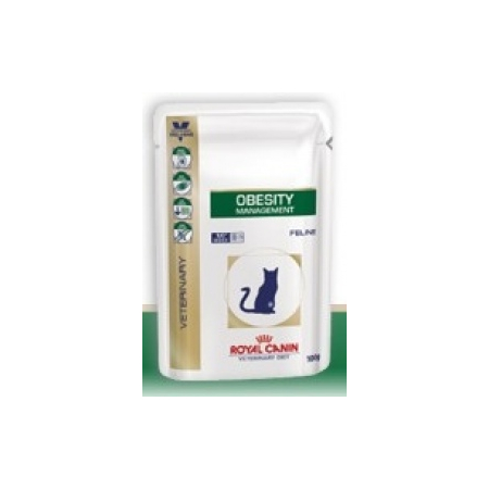 CROQUETTES ROYAL CANIN VDIET CHAT OBESITY SACHET 12 X 100 G