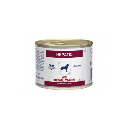 ALIMENT HUMIDE ROYAL CANIN VDIET CHIEN HEPATIC BOITE 12 X 200 G