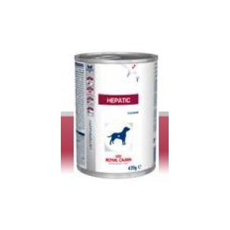 ALIMENT HUMIDE ROYAL CANIN VDIET CHIEN HEPATIC BOITE 12 X 420 G