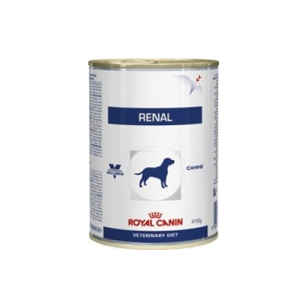 ALIMENT HUMIDE ROYAL CANIN VDIET CHIEN RENAL BOITE 12 X 420 G