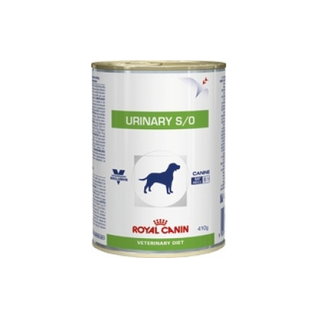 ALIMENT HUMIDE ROYAL CANIN VDIET CHIEN URINARY BOITE 12 X 410 G