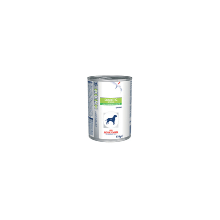 ALIMENT HUMIDE ROYAL CANIN VDIET CHIEN DIABETIC SPECIAL BOITE 12X 195 G