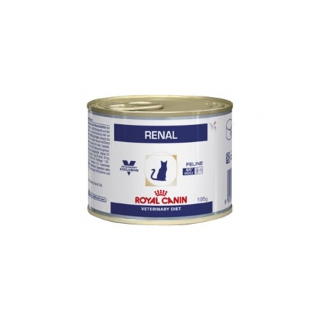 ALIMENT HUMIDE ROYAL CANIN VDIET CHAT RENAL BOITES 12 X 195 G