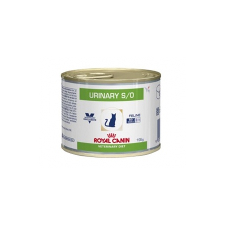 ALIMENT HUMIDE ROYAL CANIN VDIET CHAT URINARY BOITES 12 X 195 G
