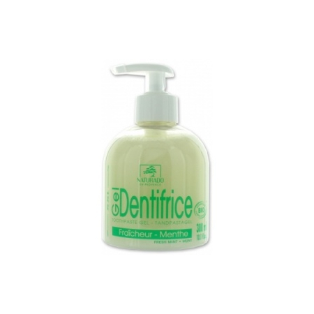 Naturado - gel dentifrice menthe 300 ml - Naturado