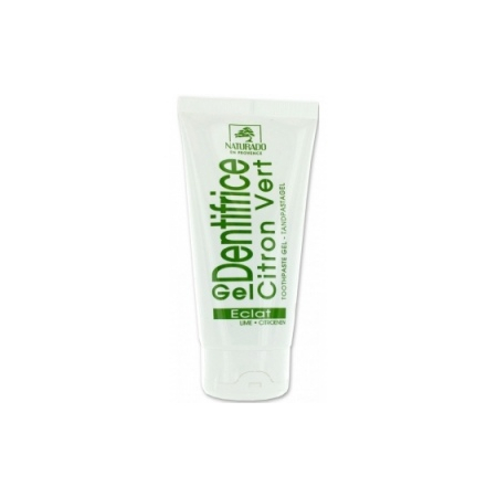 Naturado - gel dentifrice blancheur citron 75 ml