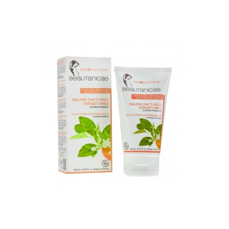 Baume Onctueux Vergetures - 150 ml - Beautanicae
