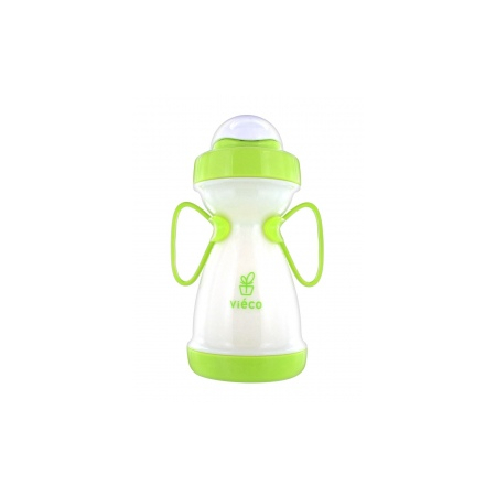 Tasse d'apprentissage a paille biobased greeny - 330ml 8 mois+