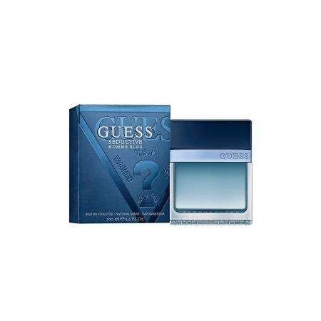 GUESS SEDUCTIVE BLUE - EAU DE TOILETTE 100 mL - - Guess