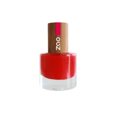 VERNIS A ONGLES NATUREL ROUGE N°650