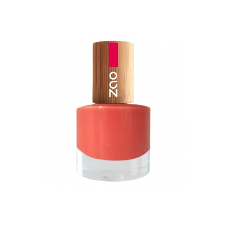 VERNIS A ONGLES NATUREL CORAIL  N°656 - Zao