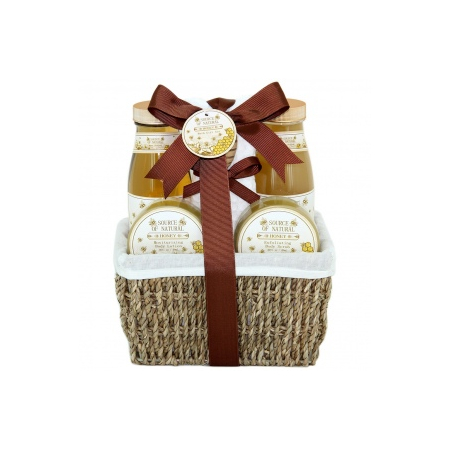 Panier de Bain - Honey - Miel - 6 Pcs