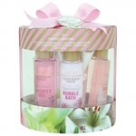 Coffret de Bain - Garden Dreams - Rose, Lys & Freesia, Jasmin & Magnolia - 7 Pcs