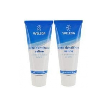 Pâte dentifrice Saline - Lot de 2 x 75 ml - Weleda