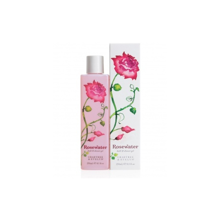 Rosewater Gel Douche 245 ML