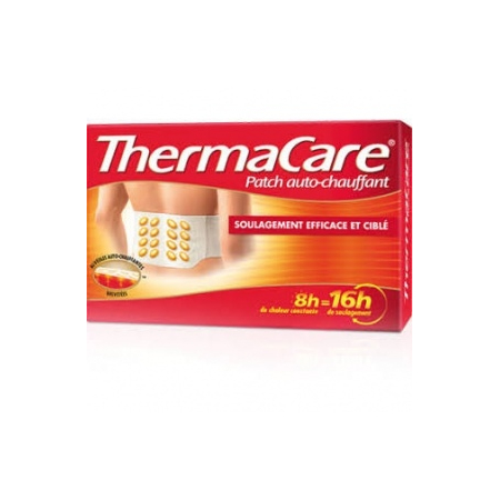 Thermacare patch chauffant anti douleur dos et Hanches X2 patchs - ThermaCare