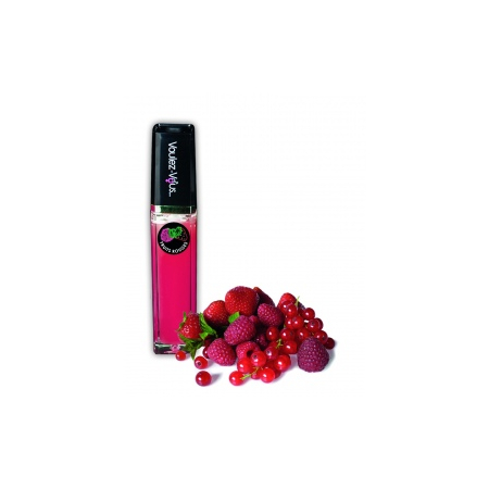 Gloss lumineux chaud froid gout Fruits rouges