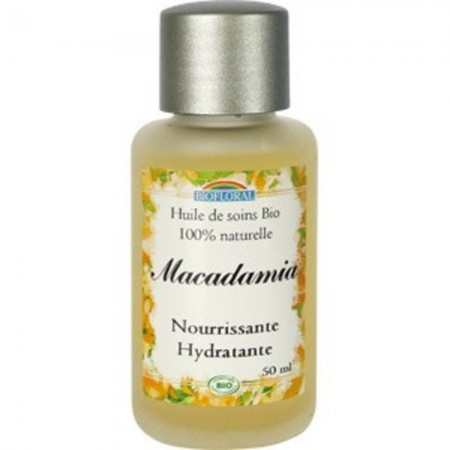 huile de soin bio macadamia 50 ml de biofloral sur 1001pharmacies. Black Bedroom Furniture Sets. Home Design Ideas