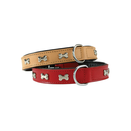 COLLIER  EXTRA SOUPLE 50 ROUGE