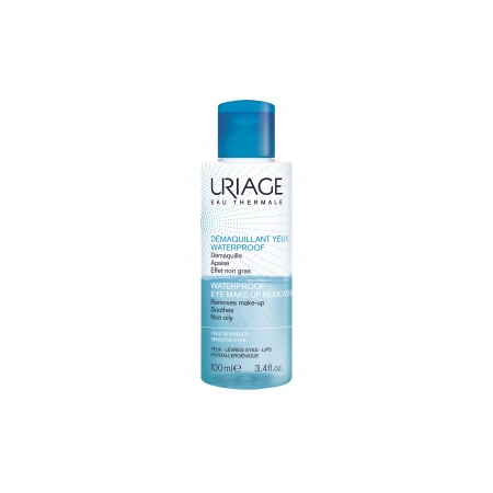 Démaquillant yeux waterproof biphase 100 ml - Uriage