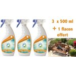 Insecticide PACK 3+ 1 Solution Ecran ANTI MOUSTIQUES (TIGRES)
