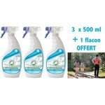 Insecticide PACK 3+ 1 Protection ANTI TIQUES